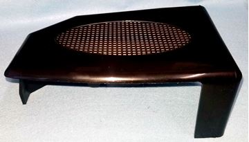 """Picture of TAIL LIGHT COVER BLACK COMP. LT 2X4 & 2X5"""" BM"""