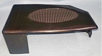 """Picture of TAIL LIGHT COVER BLACK COMP. RT 3X5"""" BM"""
