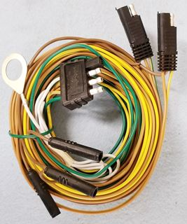 Picture of 24' WIRING HARNESS w/Flat 4-Plug - Galv/Alum