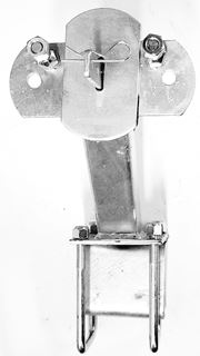 """Picture of Spare Tire Carrier Alum. Trailer (4.5x3"""" I-Tube)"""