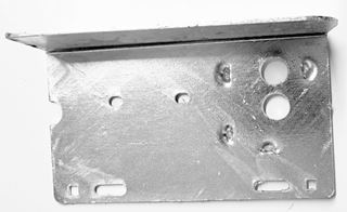 Picture of Tail Light Mount Plate Bent (Galv.) Left