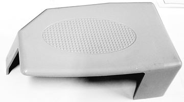 """Picture of Tail Light Cover Left (Gray) 3"""" Wide Boom"""